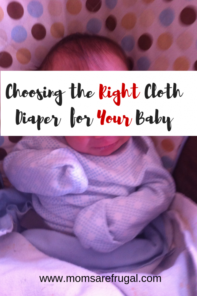 Choosing the Right Cloth Diapers for Your Baby