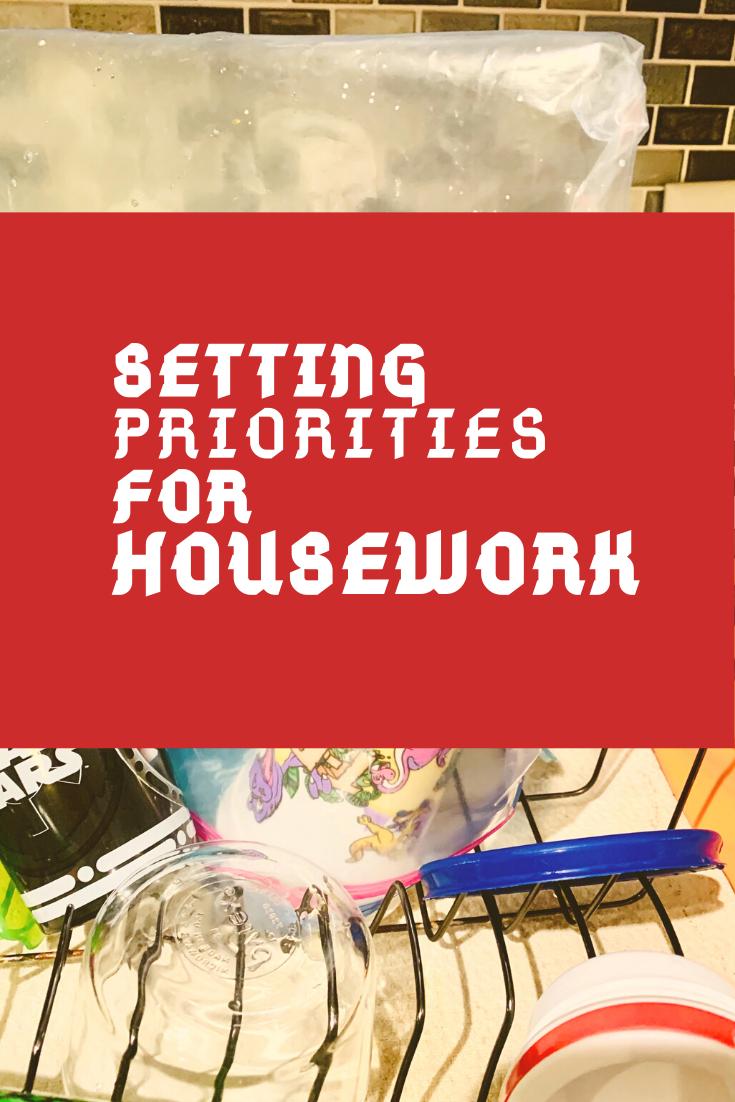 Setting Priorities in Housework