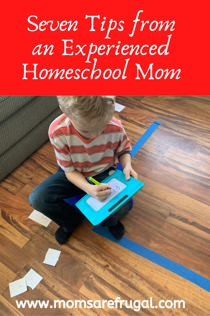 Seven Tips from and Experienced Homeschool Mom