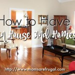 How To Have A Clean House And Homeschool