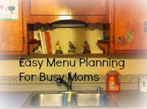 Menu Planning Made Easy For Busy Moms