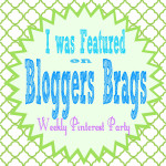 Bloggers Brags Pinterest Party #31