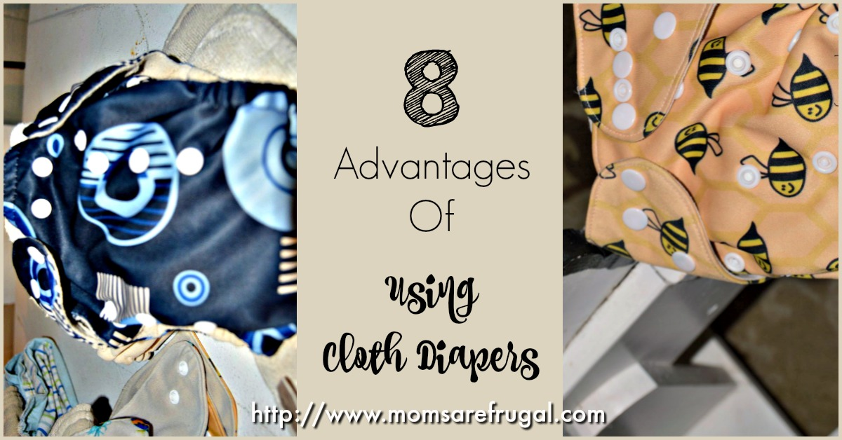 8 Advantages Of Using Cloth Diapers