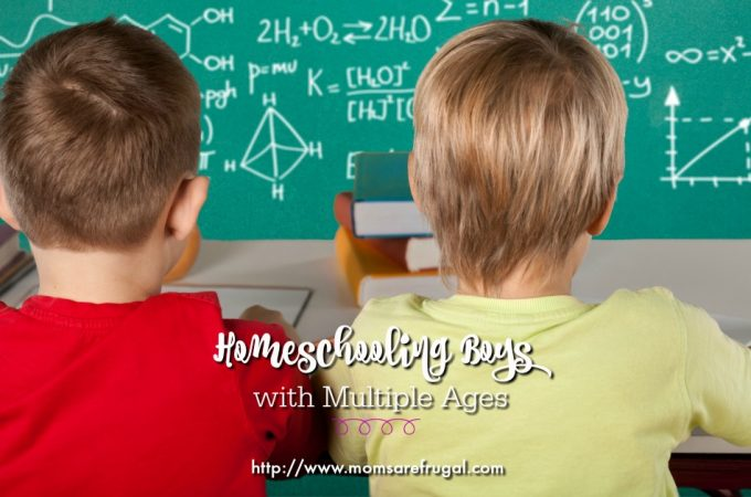 Homeschooling Boys with Multiple Ages