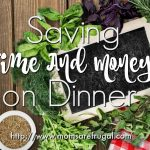 Saving Time And Money On Dinner