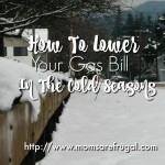 How To Lower Your Gas Bill In The Cold Seasons