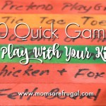 10 Quick Games To Play With Your Kids