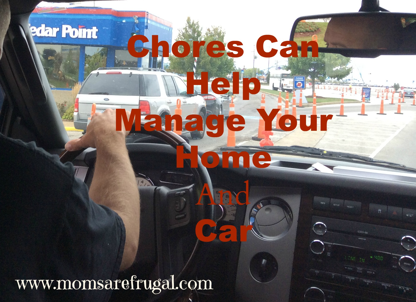 chores help manage car and home