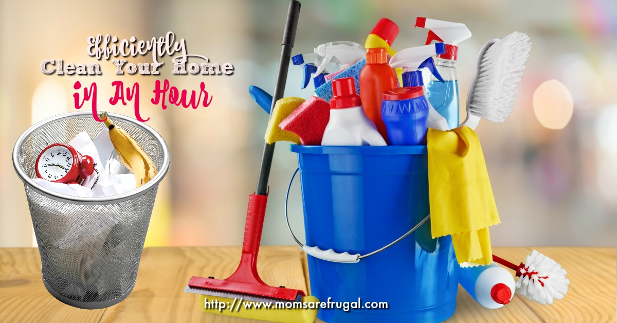 Efficiently Clean Your Home In An Hour FB