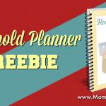 Household Planner Freebie 2017