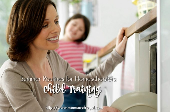 Summer Routines for Homeschoolers- Child Training FB