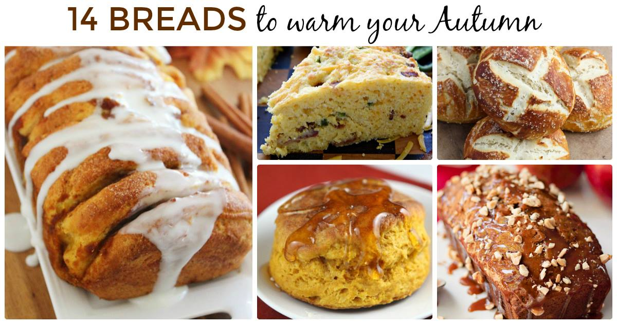 14 Breads to Warm Your Autumn