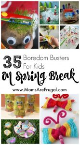 Spring break is just around the corner, and as a homeschooling mom, I am very excited to list some 35 Spring Break Fun Activities for Children.