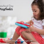 Our Homeschool Day With A Preschooler