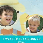7 Ways To Get Siblings To Stop Fighting