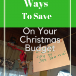 5  Frugal Ideas To Save On Your Christmas Budget