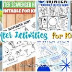 Indoor Winter Activities for Kids That Are Bored
