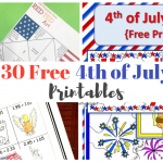 30 Fourth of July Free Printables