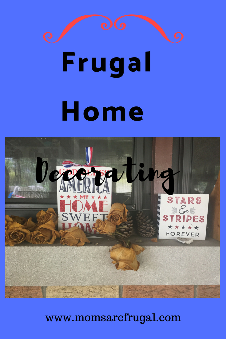 Frugal Home Decorations