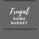 Frugal Home Budget