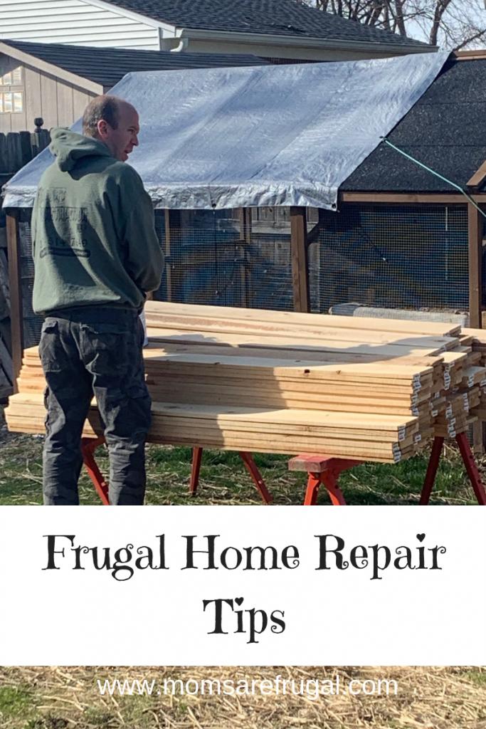 Frugal home repair tips