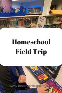 Homeschool field trip