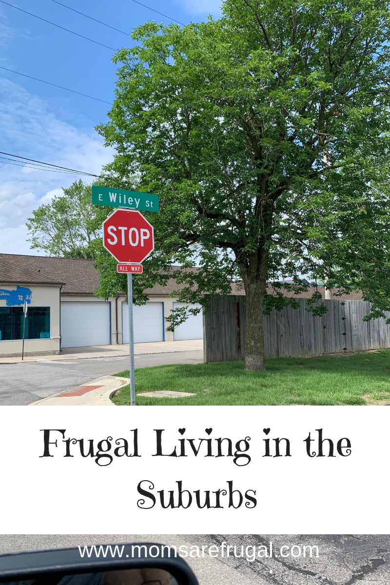 Frugal Living in the Suburbs