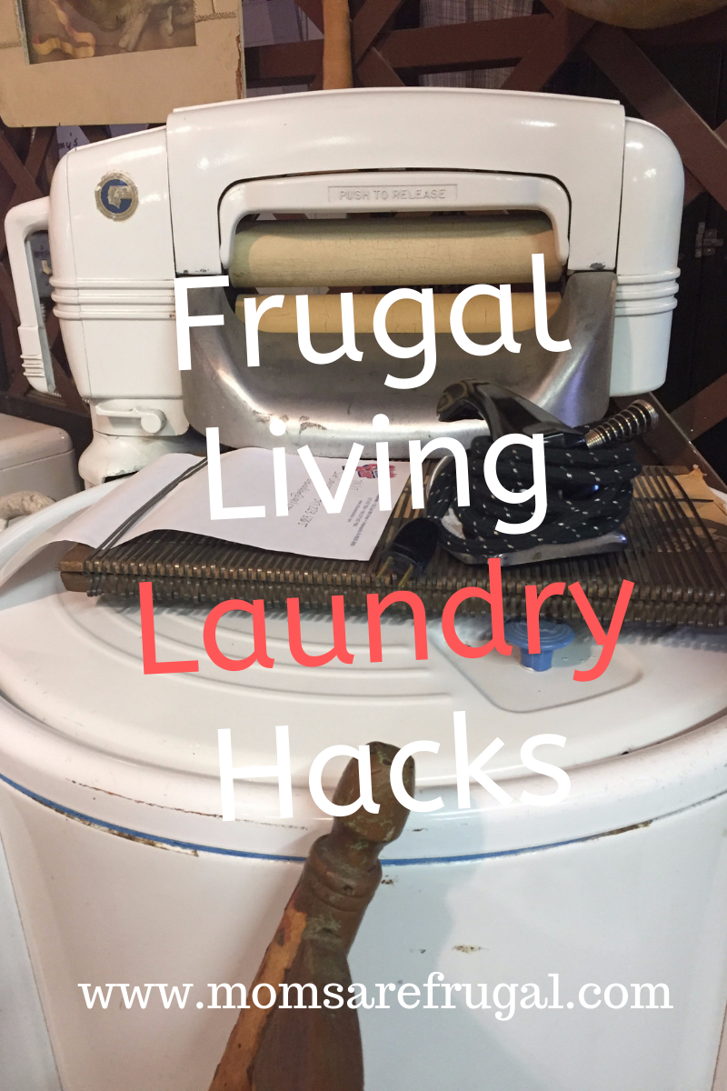 Frugal Living Laundry Tips