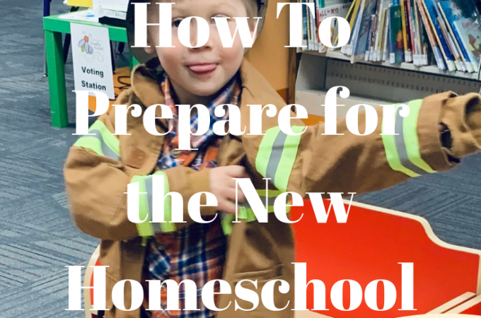 How to Prepare for the New Homeschool year