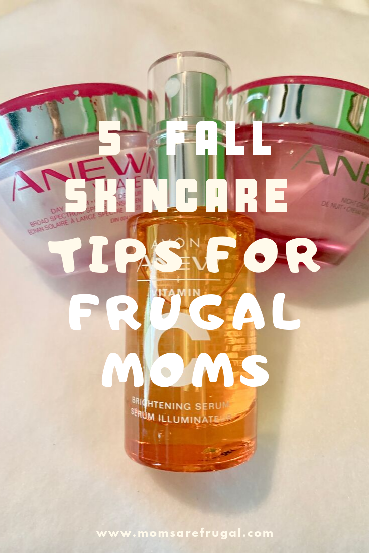 5  Fall Skincare Tips for Frugal Moms