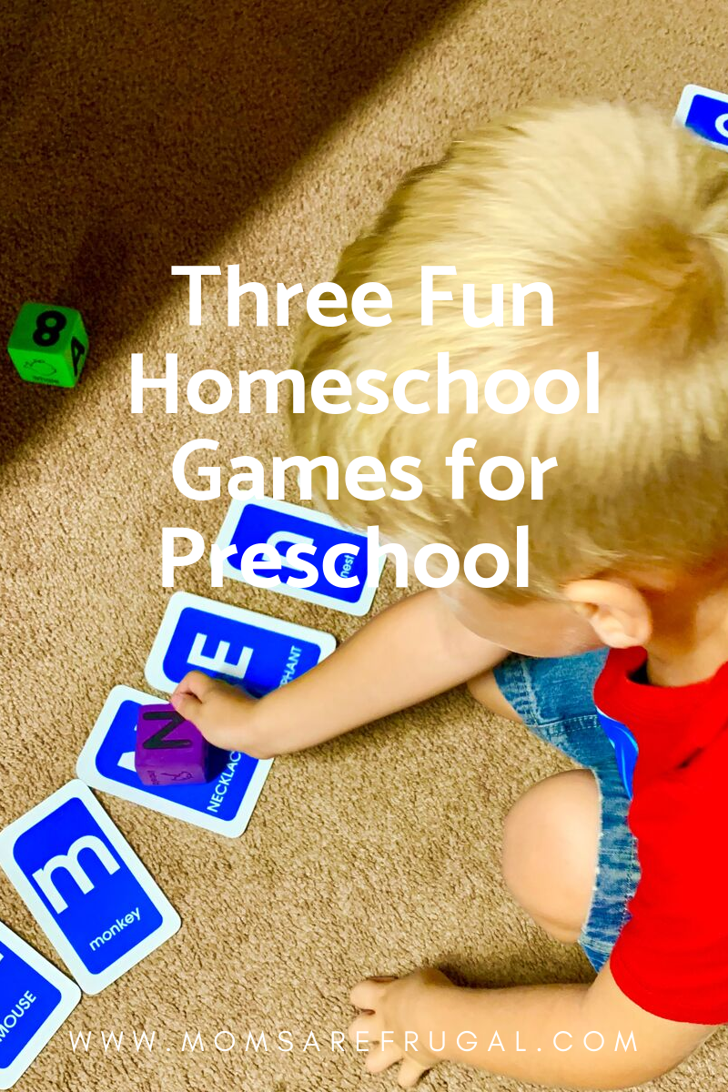Three Fun Homeschool Games for Preschool