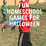 3  Fun Homeschool Games for Halloween