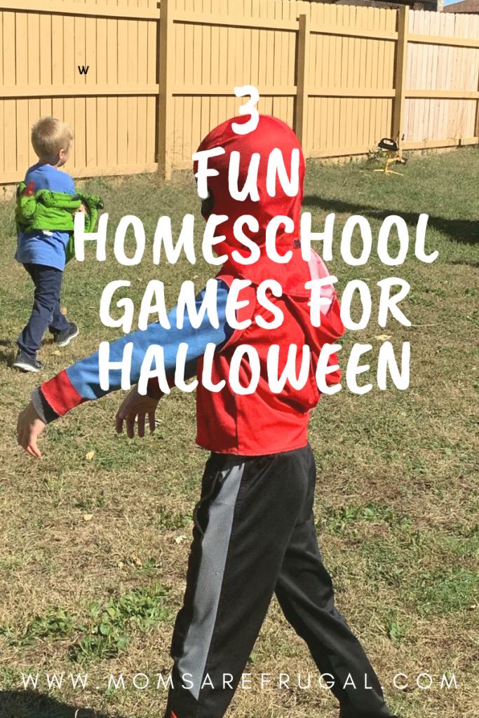 3 Fun Homeschool Games for Halloween