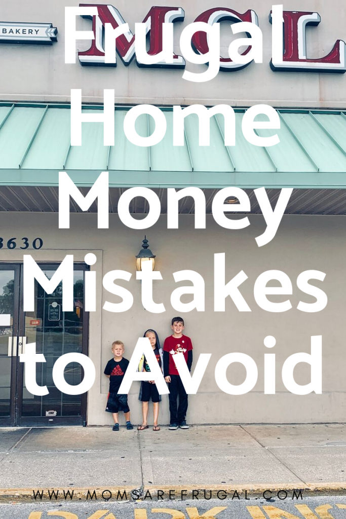Frugal Home Mistakes to Avoid