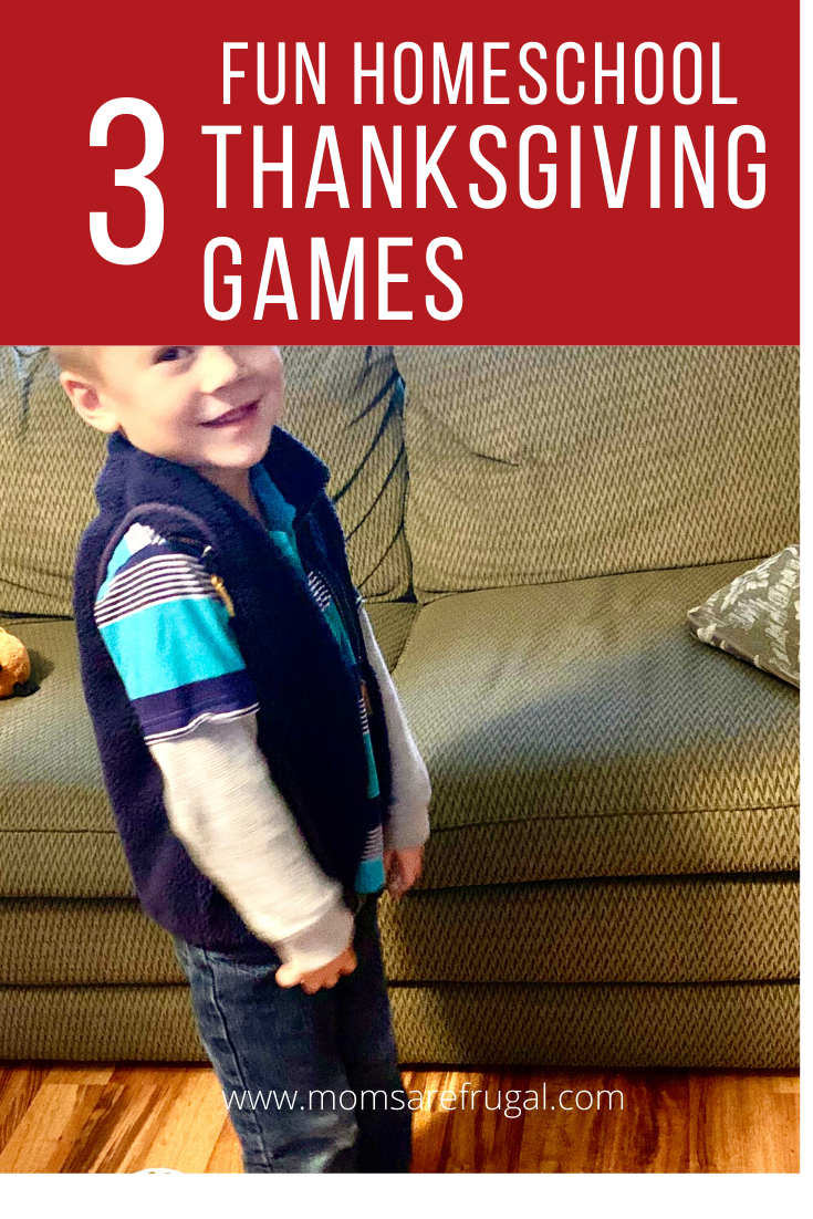 3 Fun Homeschool Thanksgiving Games