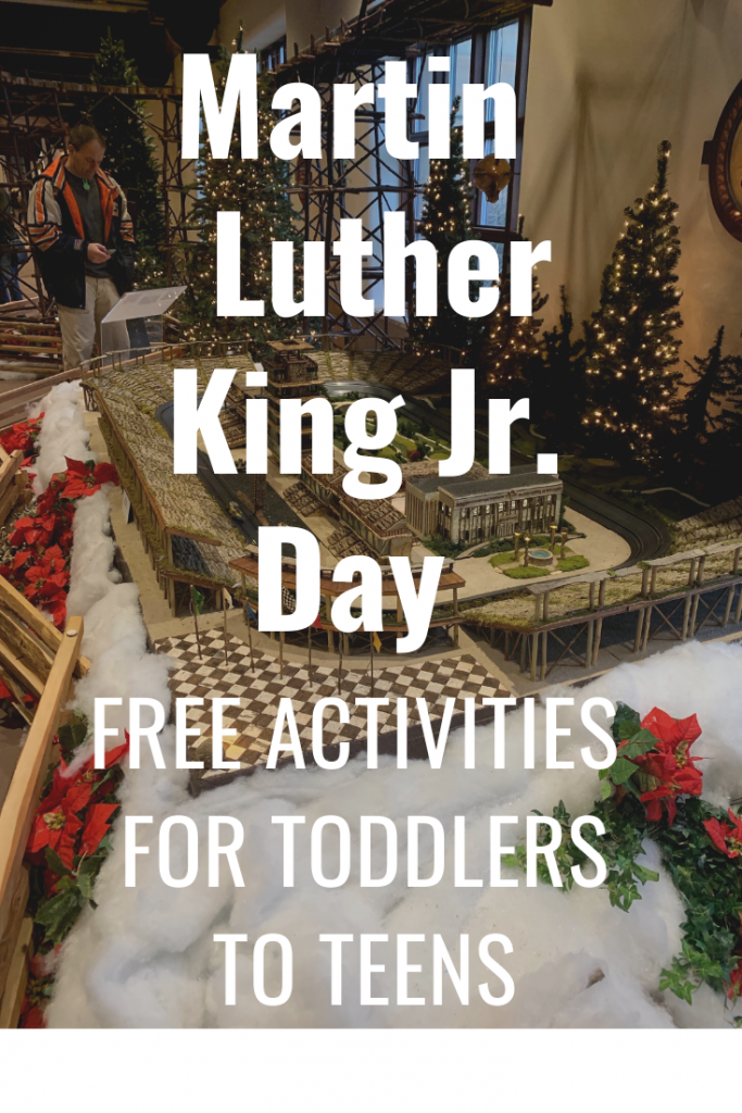 Martin Luther King jr. Day Free Activities