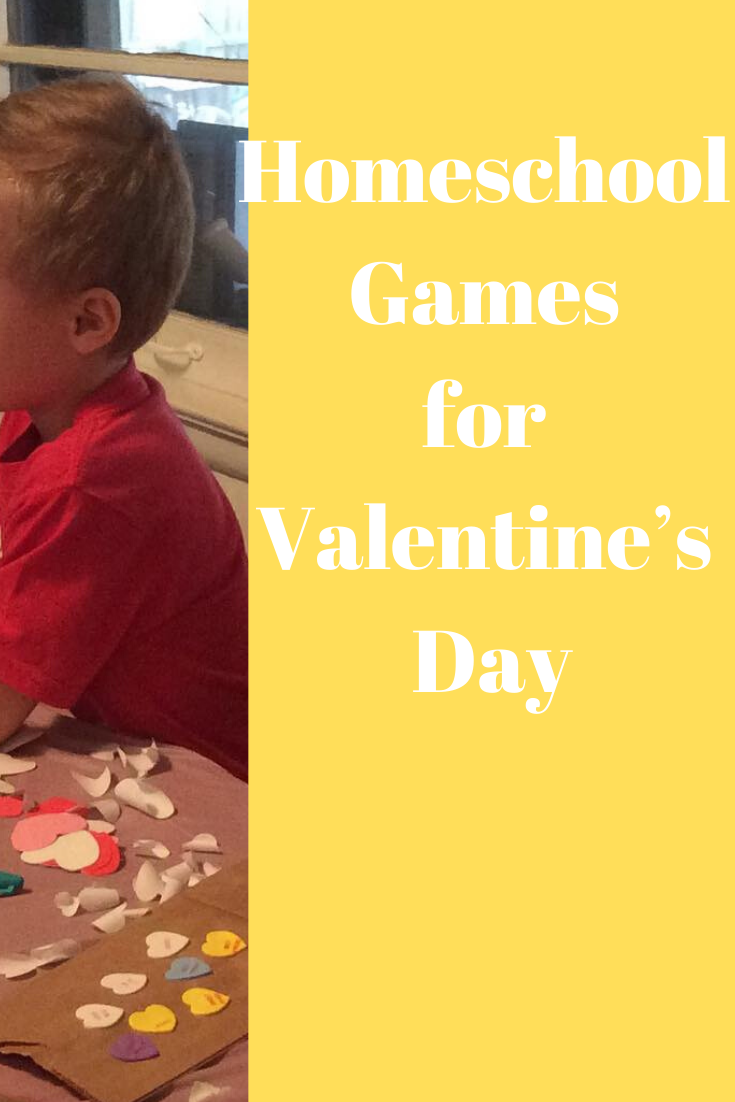 Homeschool Games for Valentine's Day