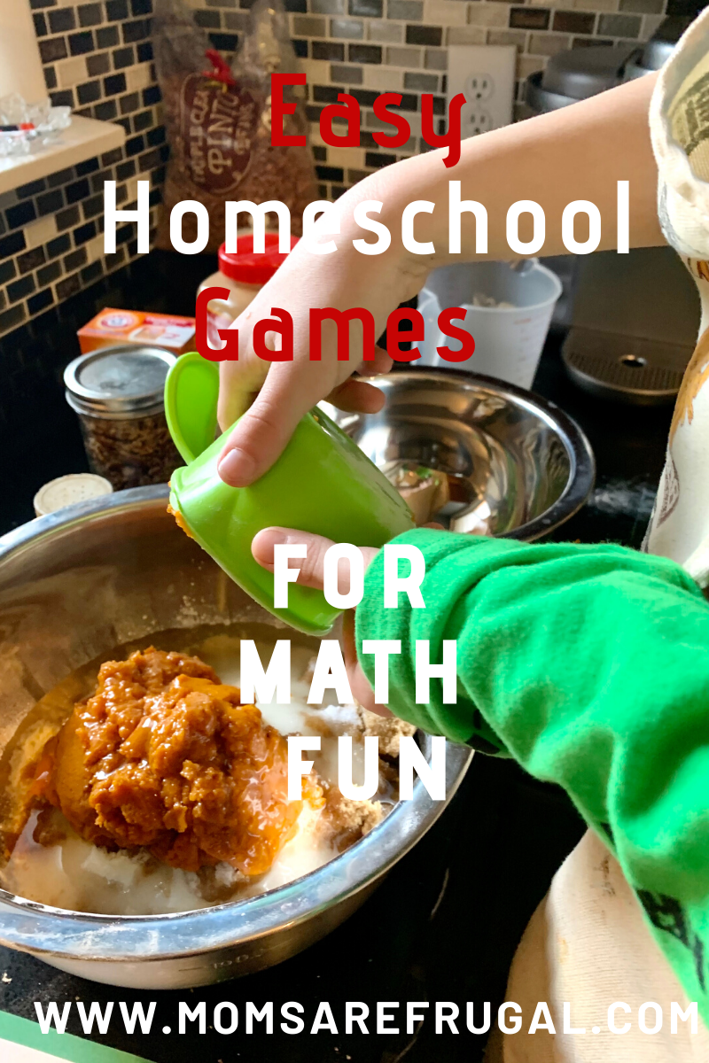 Easy Homeschool Games for Math Fun