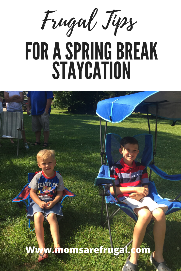 Frugal Tips for a Spring Break Staycation with Kids
