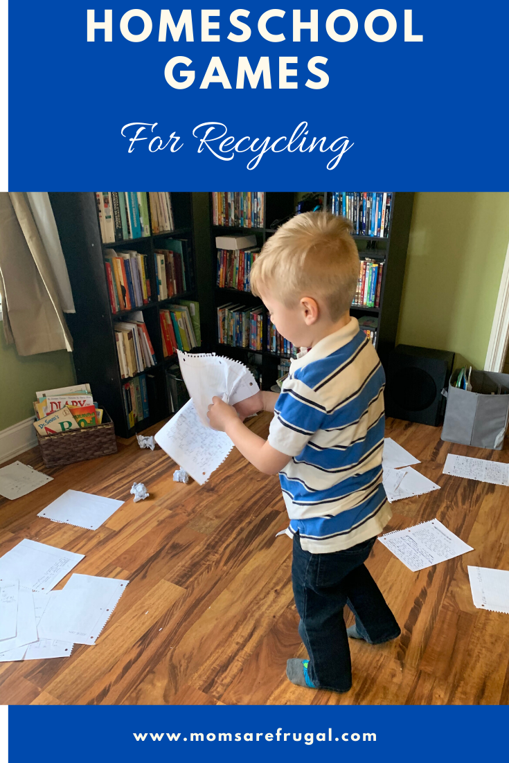 Homeschool Games for Recycling