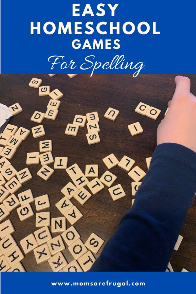 Homeschool Games for Spelling