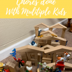 Tips to Get Chores Done with Multiple Children
