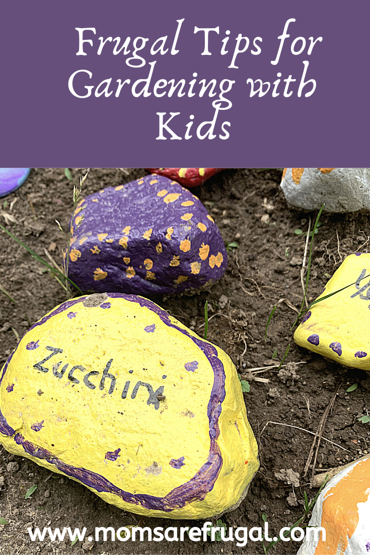 Frugal Tips for Gardening with Kids