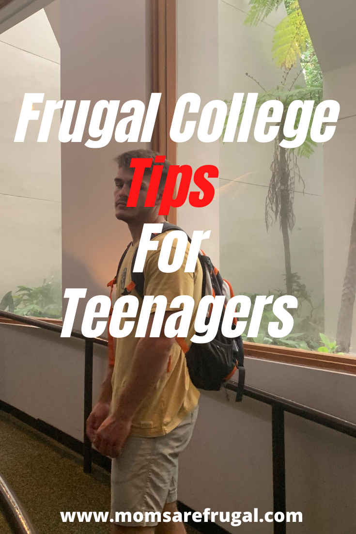Frugal College Tips for Teenagers