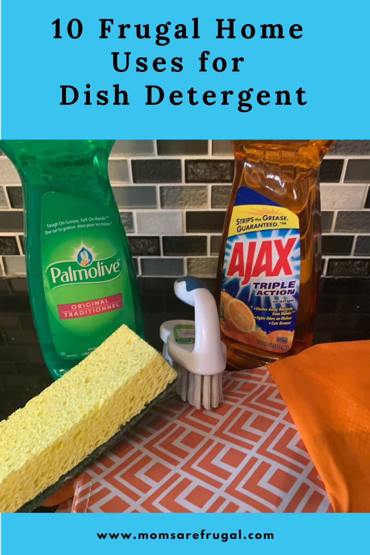 Ten Frugal Home Uses for Dish Detergent