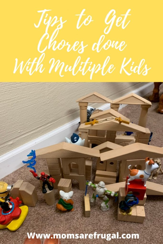 Tips to get Chores Done with Multiple Kids
