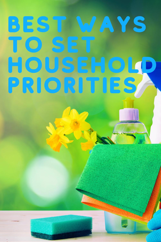 Best Ways to Set Household Priorities