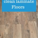 Best ways to clean laminate Floors