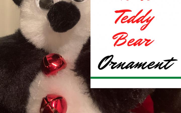 Frugal Home Teddy Bear Ornaments