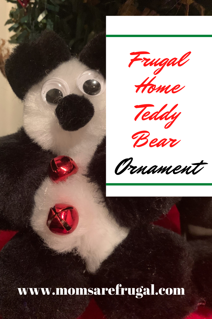 Frugal Home Teddy Bear Ornaments